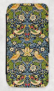 William Morris Wallet Case Note 20 Ultra,S21 plus,S10,S7 edge,Acanthus,Pimpernel