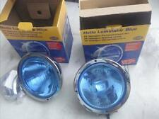 UNIVERSAL HELLA LUMINATOR FOG LIGHT LAMPS ASSEMBLIES PAIR 1F8 007 560-131 BLUE