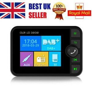 Bluetooth Digital Car DAB Radio FM Transmitter MP3 Player Receiver USB Adapter