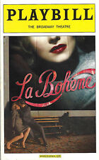 "Baz Luhrmann's ""LA BOHEME"" Full Cast Autographed 2002 Opening Night Playbill"