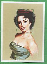 Young Elizabeth Taylor Commemorative Souvenir Stamp #1160 Central Africa E33