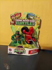 Teenage Mutant Ninja Turtles TMNT - Half-Shell Heroes - RAPH w/ MINIBIKE - NEW