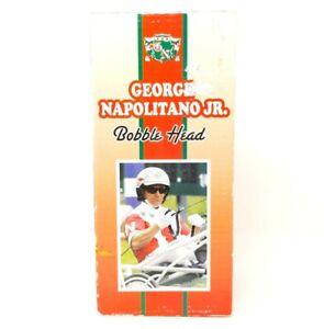 George Napolitano Jr Bobblehead Harness Horse Racing Harrahs Philadelphia Nodder