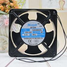 MAXAIR BT220 220V 12038B2HL 12CM high temperature cooling fan