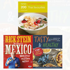 Road to Mexico Cookbook Recipes Tasty & Healthy Rick Stein 3 Books Collection