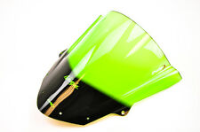 08-16 Kawasaki ZX600 Ninja ZX-6R Puig Z Racing Windscreen, Green  6482V