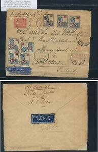 Netherlands  Indies  nice franking cover to  Holland