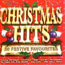 Christmas Hits 50 Festive Favourites Various Artists Xmas Music CD Album 49p