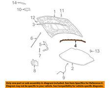 FORD OEM 02-05 Thunderbird Hood-Rear Weatherstrip Seal 1W6Z16740AB