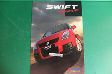 SUZUKI SWIFT SPORT AUTO CAR PUBBLICITA DEPLIANT BROCHURE CATALOG