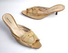 Damen-Pumps im Pantoletten-Stil aus Echtleder