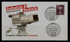 BRD FDC MN 1134 (6) Industrie und Technik (III) Farbfernsehkamera-Kommunikation