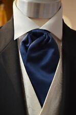 Pre-Tied Adjustable Classic Cravat, Midnight Wedding, Formal, Prom