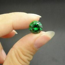 2.01Ct Natural Mined Colombia Green Emerald 7mm Round Cut VVS AAA Loose Gemstone