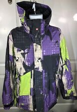 Quiksilver Snowboarding Jacket. Mens Small. With Snow Skirt.