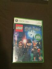 Microsoft XBox 360 Video Game LEGO Harry Potter year 1 - 4 Rated E