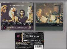 FORTUNE - MAKING GOLD CD 1992 ZERO JAPAN OBI XRCN-1043 METAL ROCK