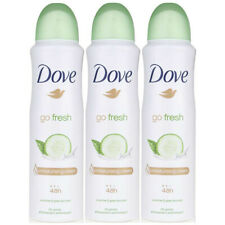 Dove GoFresh Cucumber&Green Tea Deodorant & Body Spray 48H FRESH 150ml Pack Of 3
