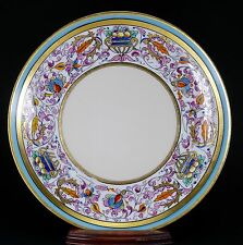 PICKARD Limoges Hand Painted Venetian Renaissance Plate Signed Passoni