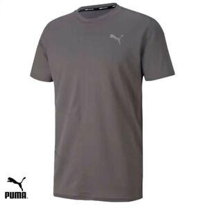 Mens Puma Ignite Training T-Shirt Grey