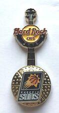 Hard Rock Cafe Pin Badge NBA BasketBall 3D Logo Guitar - Phoenix Suns