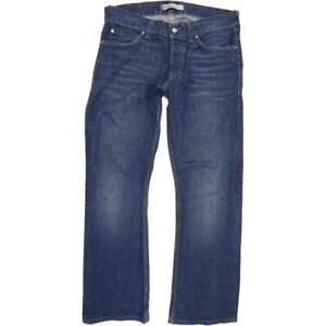 Levi's 512  Homme Bleu Bootcut Regular  Jeans W36 L32 (65501)