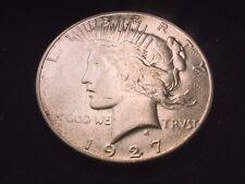 1927-S PEACE DOLLAR GREAT KEY DATE DOLLAR COIN!!   #7