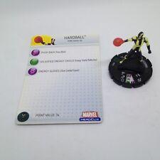 Heroclix Captain America set Hardball #022 Uncommon figure w/card!
