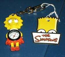 THE SIMPSONS CLIP WATCH LISA SIMPSON COLLECTIBLE FROM FROM FRIGO CHEESE HEADS