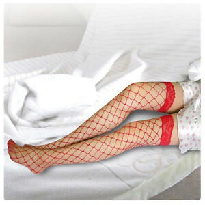 Super Sexy Lady's Lace Top Large Fish Net Stockings Pretty Pantyhose
