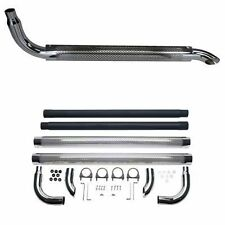 """Chrome Exhaust 70"""" Side Pipes 3"""" Ford Chevy Dodge"""
