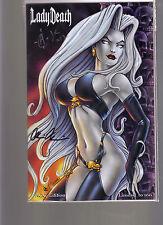Lady Death #1 Acc Albuquerque Comic Con Exclusive Bikini Variant Edition 2X