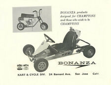 "Vintage & Very Rare 1963 Bonanza ""Champions"" Go-Kart Ad"