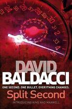DAVID BALDACCI ______ SPLIT SECOND ______ BRAND NEW ___ FREEPOST UK