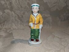 Vintage Figurine Chinese Japanese Man Made In Occupied Japan