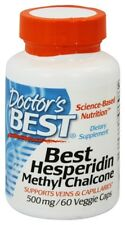 Doctor's Best - Best Hesperidin Methyl Chalcone 500 mg. - 60 Vegetarian Capsules