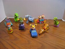 Nickelodeon's Rugrats - 9 Burger King Kids Meal Toys -1998 - 2000