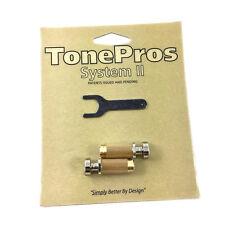TonePros SNS1 Nickel Locking SAE Stop Tailpiece Studs USA Gibson® TP-0456-001