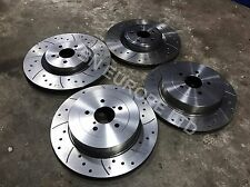 SUBARU IMPREZA FRONT REAR BREMBO BRAKE CALIPERS DISKS WRX STI 22B P1 JDM TURBO