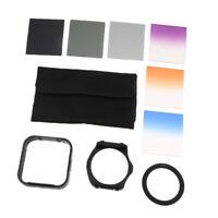 Color Filter Set Kit for DSLR Camera Lens Accessory Bundle 67mm with Adapter