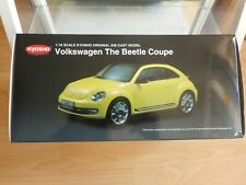 Kyosho VW Volkswagen The Beetle Coupe in Yellow on 1:18 in Box