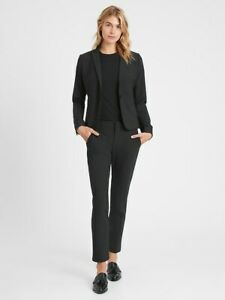 NEW! Banana Republic Avery Straight Fit Washable Wool Blend Ankle Pant sz 6