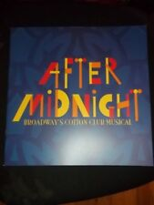 AFTER MIDNIGHT, 2013 Broadway Musical Program, Fantasia, OBC