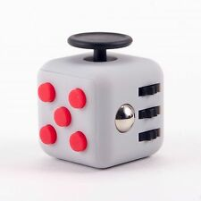NEW FIDGET CUBES STRESS ANXIETY RELIEF DESK TOYS FOR ADULT KIDS NEW 6 SIDED 2017