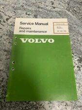 volvo 240 wiring diagram 1988 repair manuals   literature for volvo 240 for sale ebay  repair manuals   literature for volvo