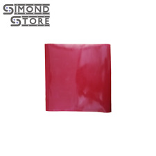 """Silicone Rubber Sheet High Temp Solid Red Standard Grade 1/4"""" x 6"""" x 6"""""""