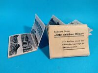 Vintage german souvenir photo. Views of the Elbe River.