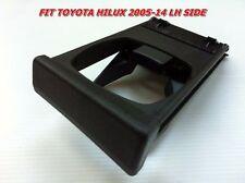 1PC TOYOTA HILUX VIGO FORTUNER 2005-2014 GENUINE DASH DRINK CUP HOLDER BLACK LH