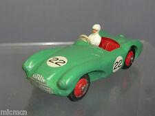 """Dinky Toys Modelo No.110 Aston Martin DB3s """"luz verde versión"""""""