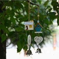 New Bamboo Wind Chime Home Decor Garden Outdoor Hanging Bell Gift Ornament KV